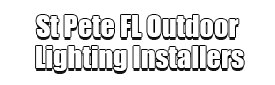 St Pete FL Outdoor Lighting Installers Logo-We Offer Outdoor Lighting Services, Landscape Lighting, Low Voltage Lighting, Outdoor LED landscape Lighting, Holiday Lighting, Christmas Lighting, Tree Lighting, Canopy Lighting, Residential outdoor Lighting, Commercial outdoor Lighting, Safety Lighting, Path and Garden Lighting, Mini lights and flood lights, Landscape Lighting installation, Outdoor spot lights, Outdoor LED garden Lighting, Dock Lighting, Accent lights, Deck and patio lights, Security lights, Underwater Lighting, Tree upLighting, Outdoor Lighting repair services, and more.